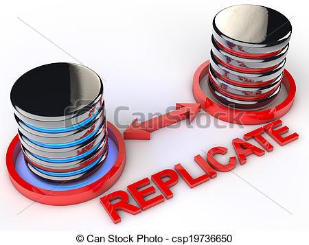 Replication clipart.