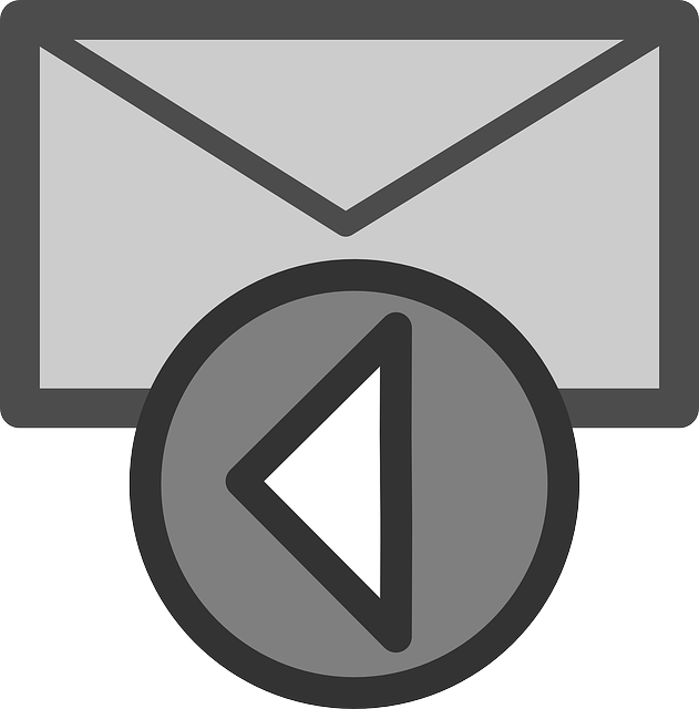 Reply icon clipart.