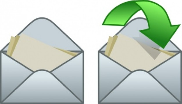 Clipart email reply.