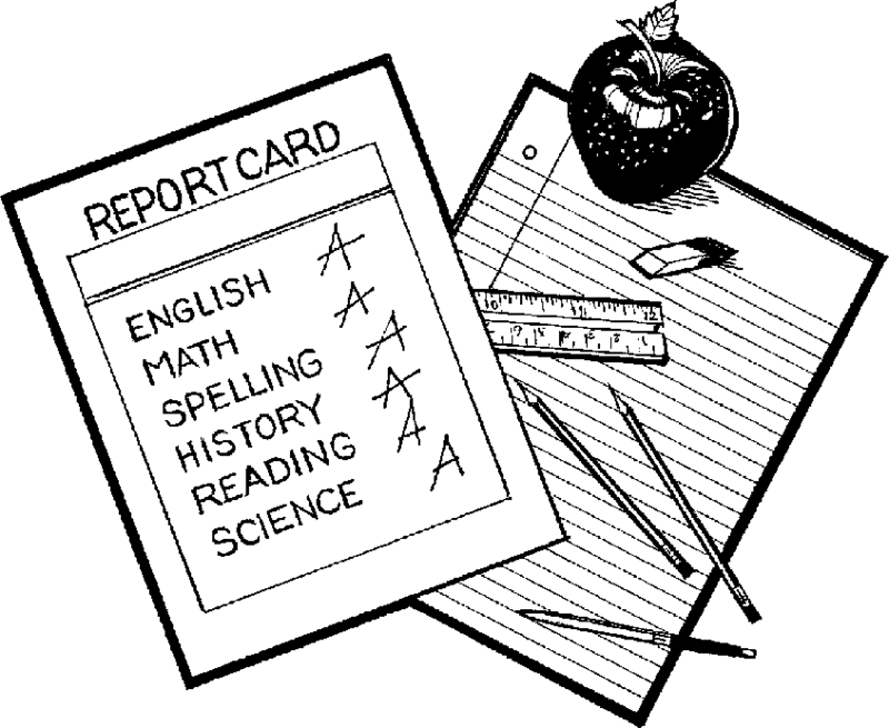 Download Free png report card clipart.