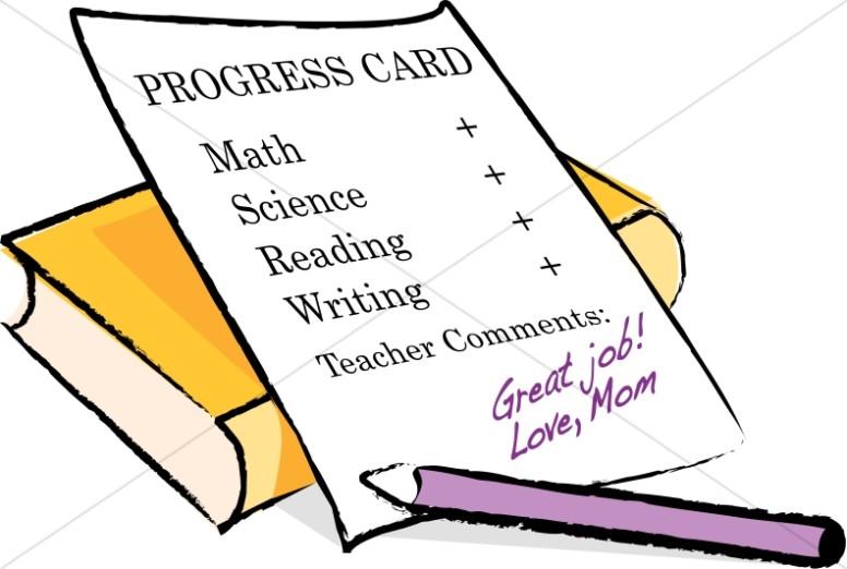 Homeschool Report Card.
