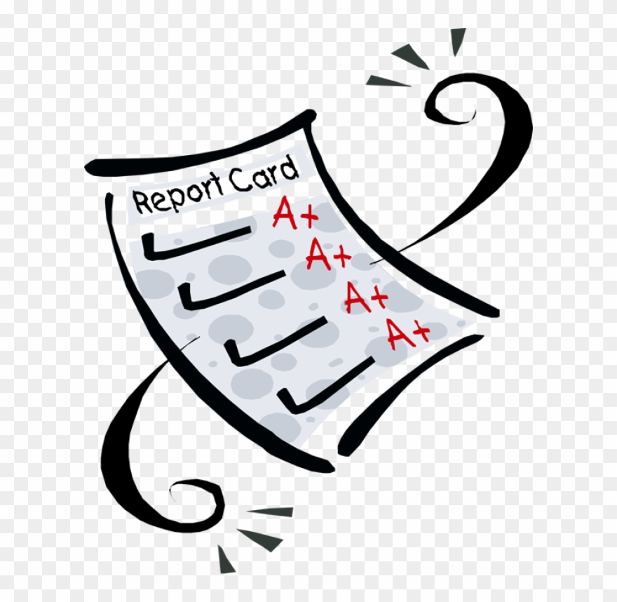 Report Card Clipart.
