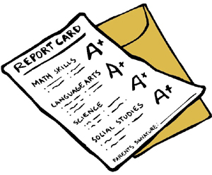 Clipart Report Card.