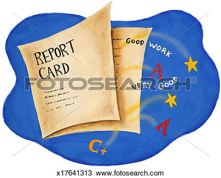 Report card Stock Illustrations. 1,270 report card clip art images.