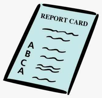 Free Report Cards Clip Art with No Background.