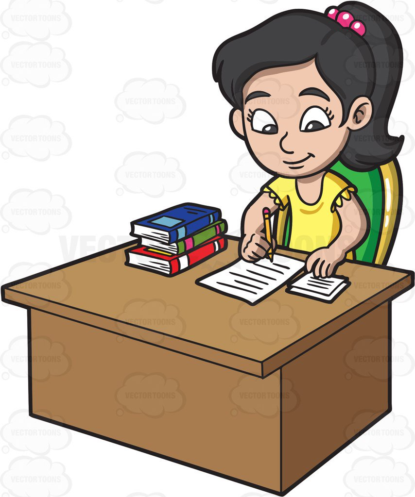 Report Writing Clipart.