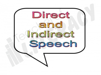 Reported speech clipart.