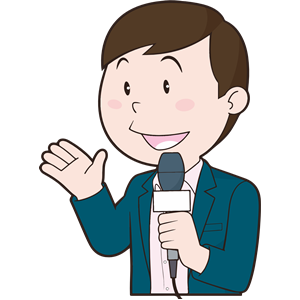 Male News Reporter clipart, cliparts of Male News Reporter.