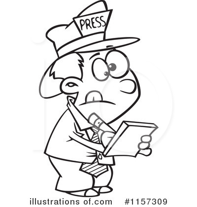Reporter Clipart Images.