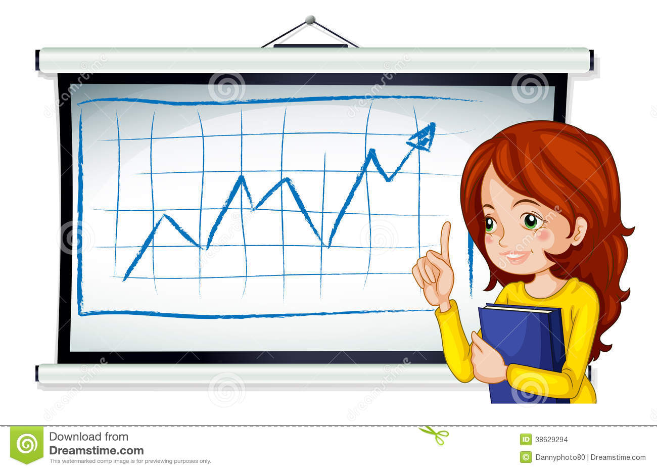 A Business Icon Reporting Stock Images.
