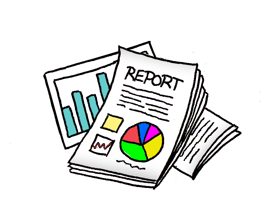 Report Clipart Group with 18+ items.