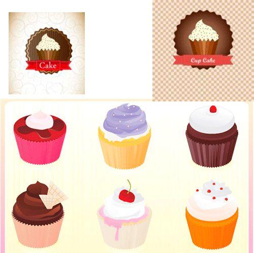 1000+ images about Iconos y Vectores repostería & Cupcakes on.
