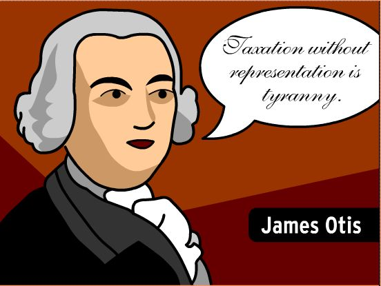 No taxation without representation clipart.