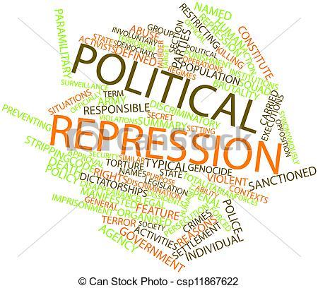 Clip Art of Political repression.