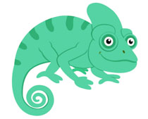 Reptiles Chameleon Clipart Clipart.