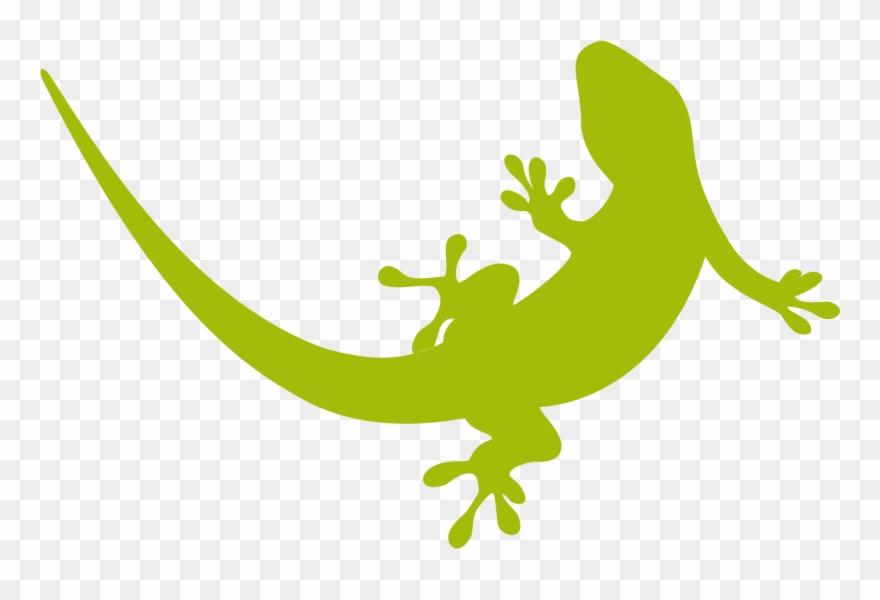 Gecko Clipart Svg.