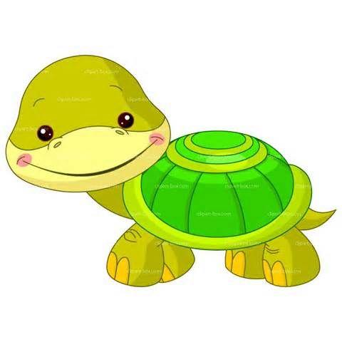 Baby Alligator Clip Art.