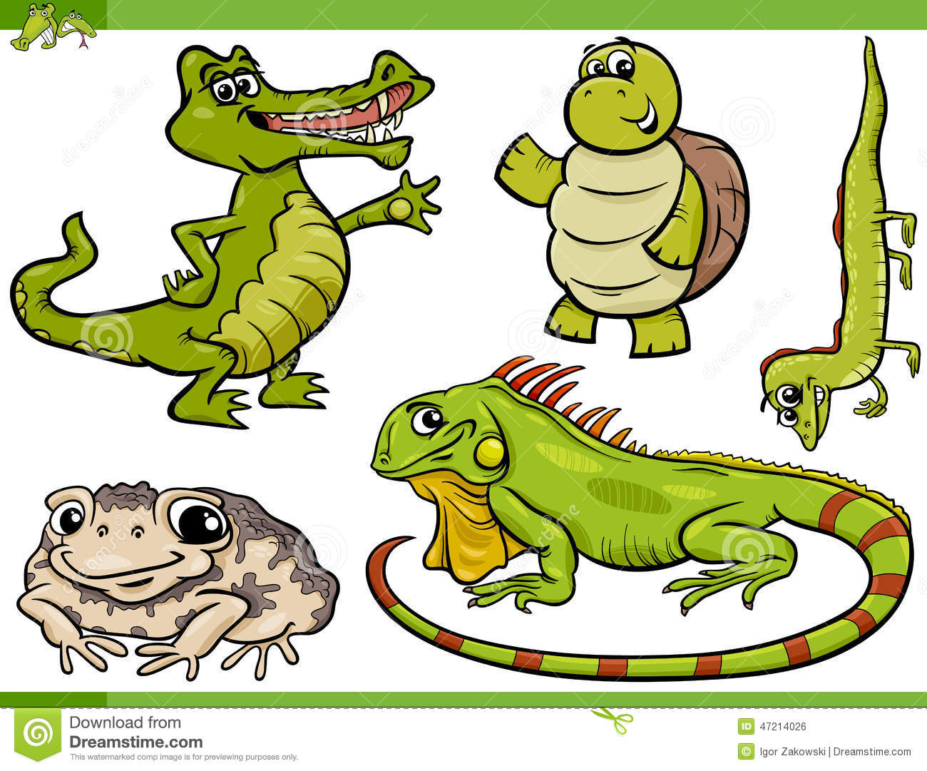 Reptiles clipart - Clipground