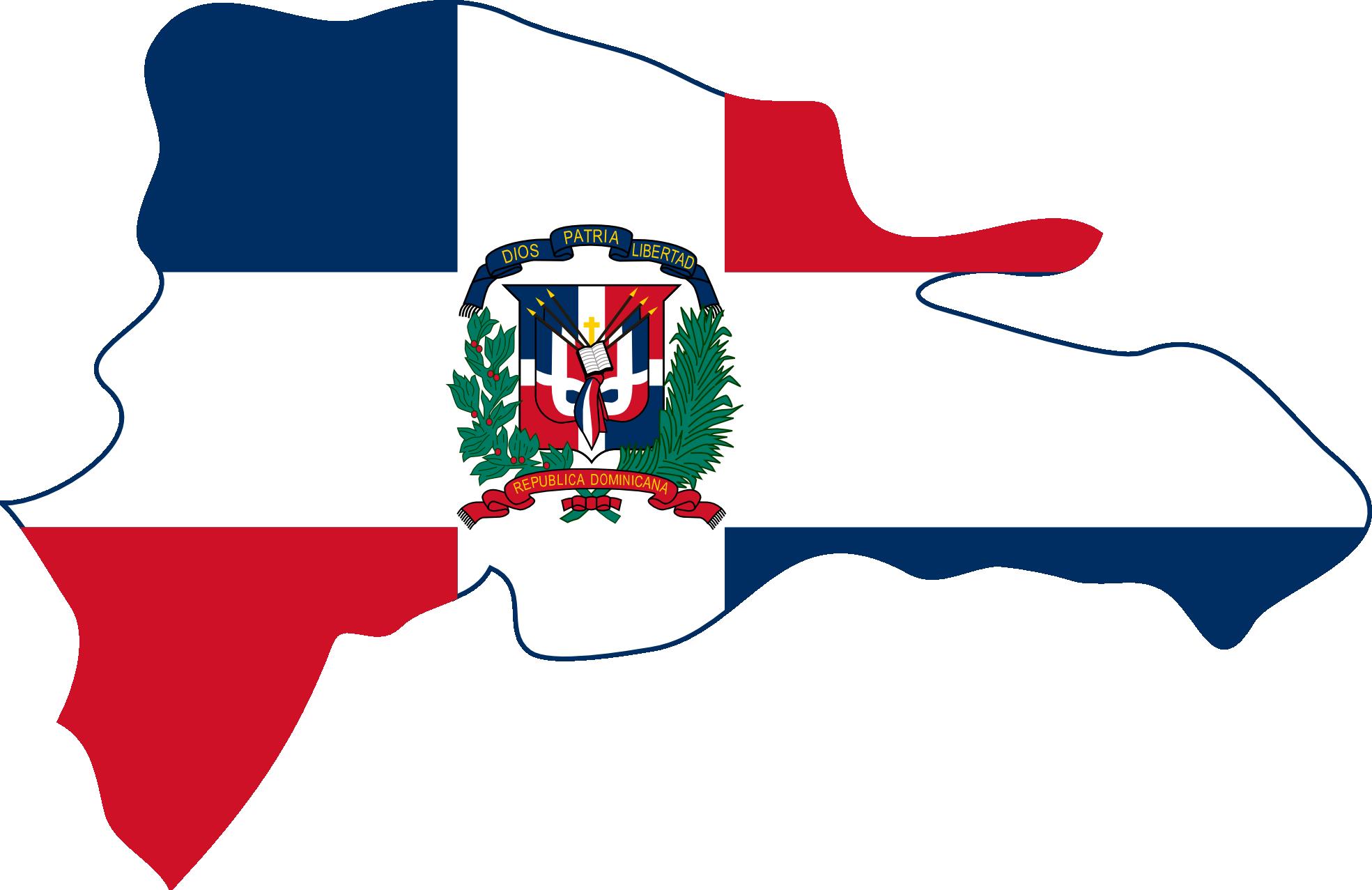 Dominican republic clip art.