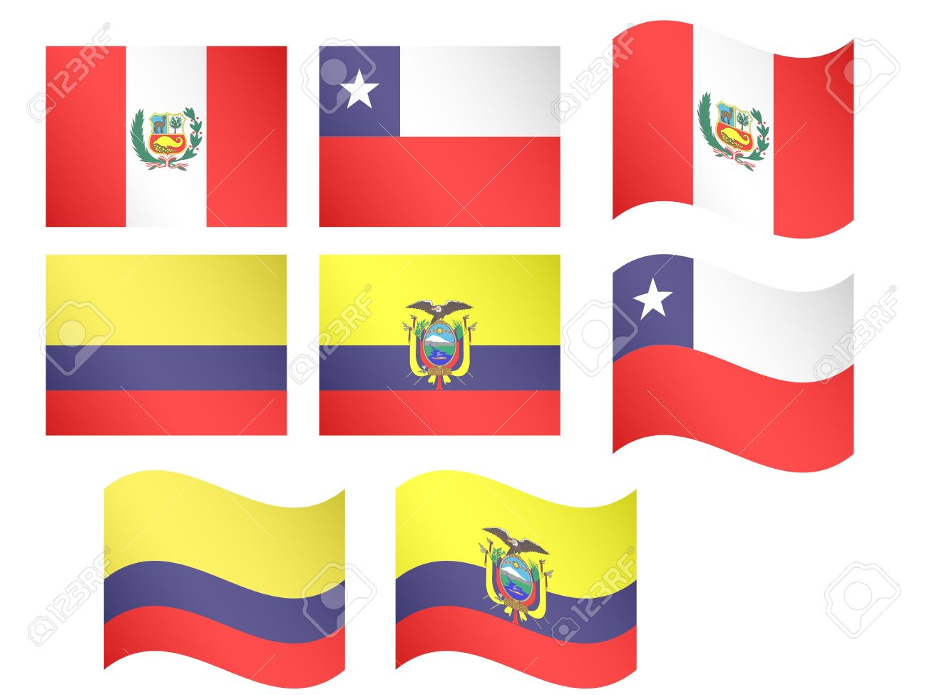 757 Republic Of Colombia Stock Vector Illustration And Royalty.