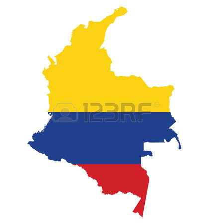 727 Republic Of Colombia Stock Vector Illustration And Royalty.