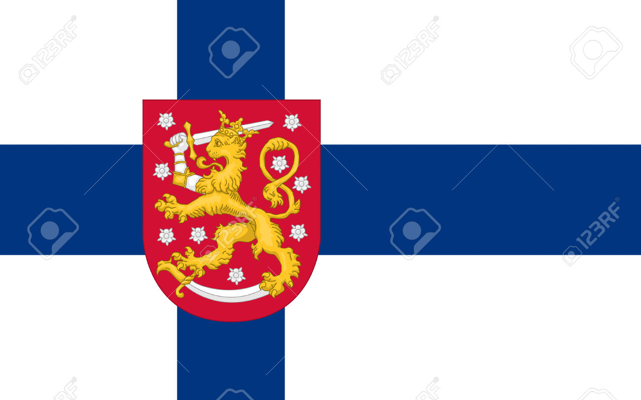 Flag Of Finland Officially The Republic Of Finland Is A Sovereign.