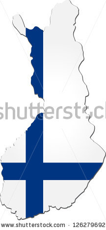 Flag Of Finland Stock Vectors & Vector Clip Art.
