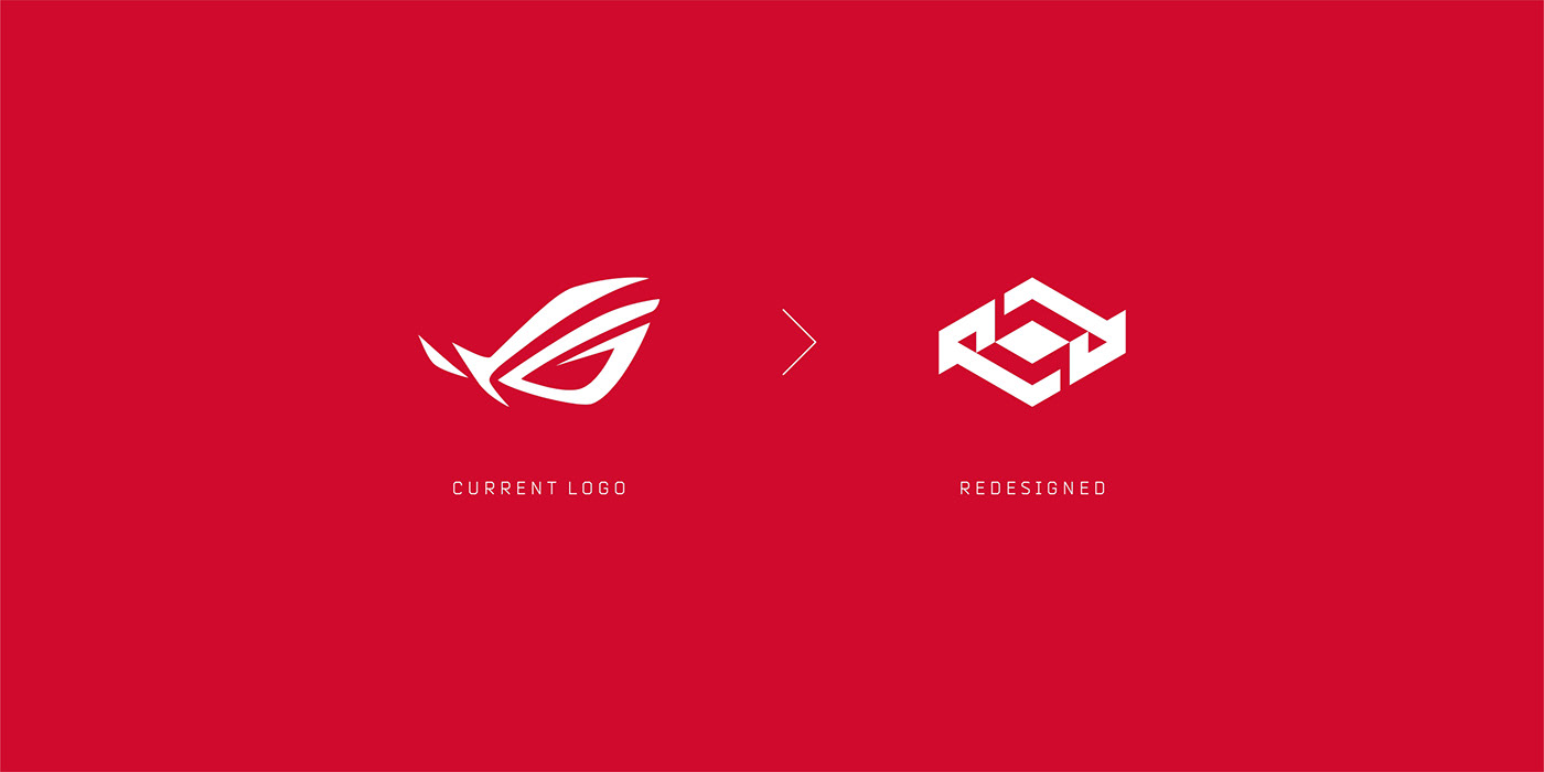 Republic of Gaming • Logo Redesign Concept on Behance.