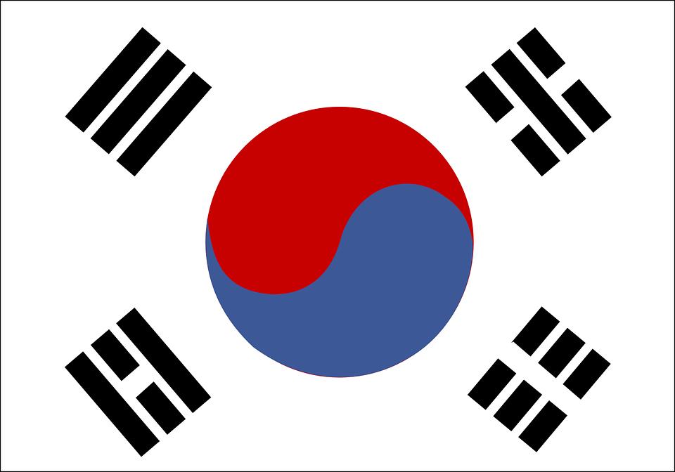 Free vector graphic: South Korea, Flag.