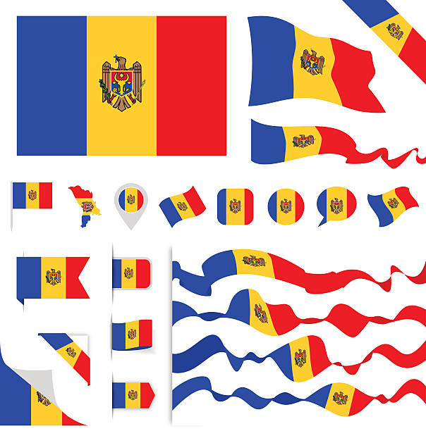 Republic Of Moldova Clip Art, Vector Images & Illustrations.