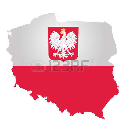 4,398 Polish Flag Stock Vector Illustration And Royalty Free.