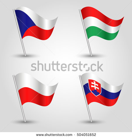 Polish Flag Stock Images, Royalty.