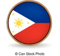 Vector Illustration of Republic of the Philippines.