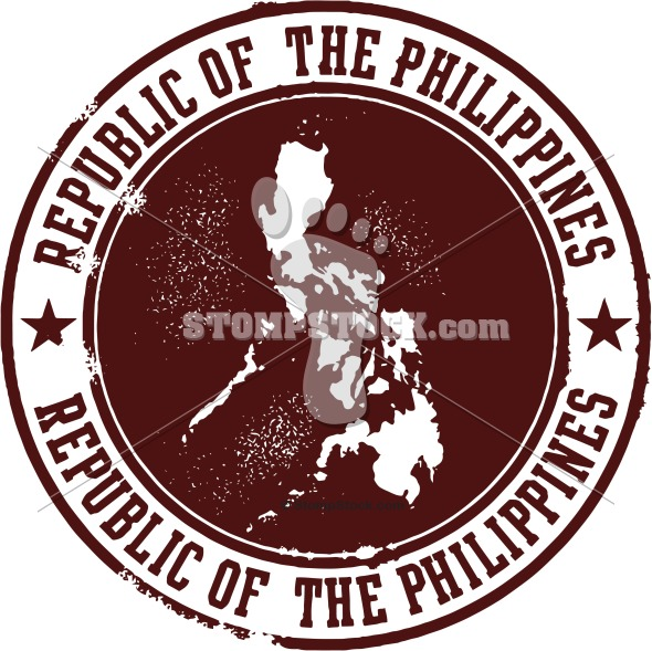 Republic of the Philippines Vector Clip Art.