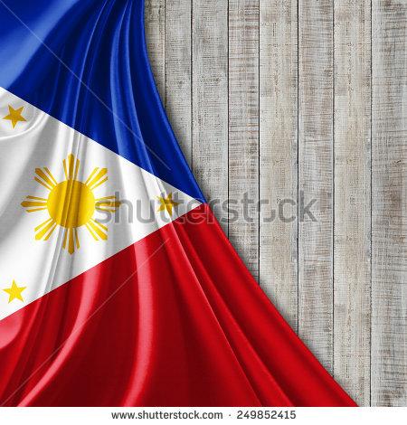 Philippines Flag White Background Stock Illustration 249852406.