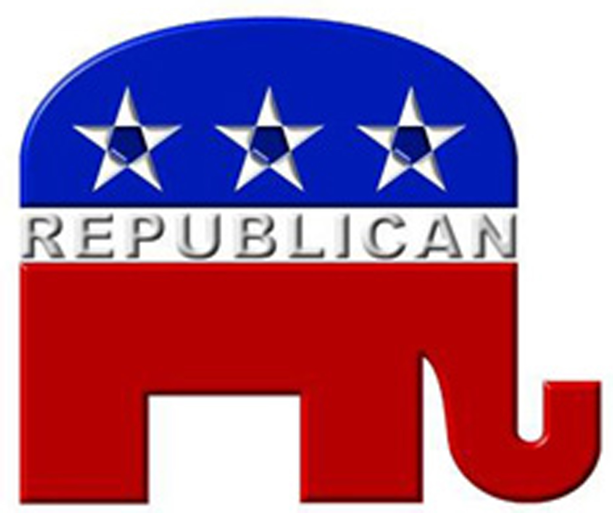 Republican party elephant clipart.