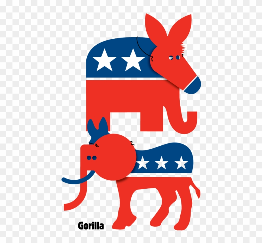 Democratic Party Elephant Clipart , Png Download.