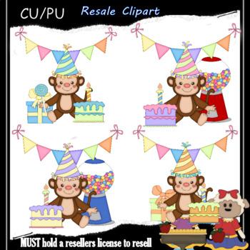 Birthday Party Monkeys 2.