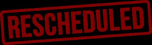 SPSD school board meet rescheduled.