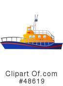 Rescue Boat Clipart #1.