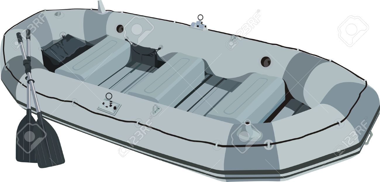 Rescue Boat Supplies Clipart Png.