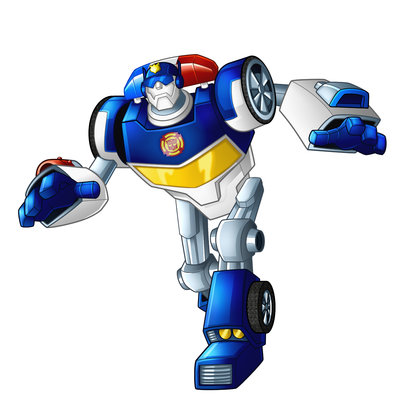 Transformer Rescue Bot Clip Art.