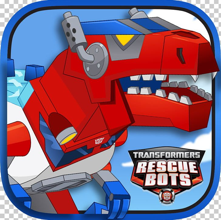 Dinobots Optimus Prime Transformers Rescue Bots: Save.