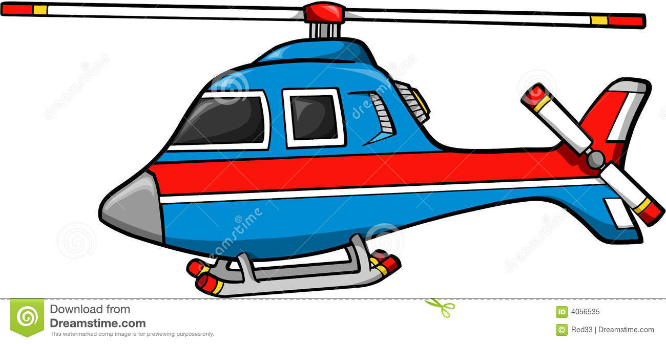 Rescue Helicopter Royalty Free Stock Photo.