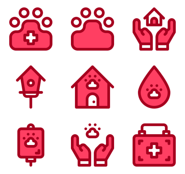 19 rescue icon packs.