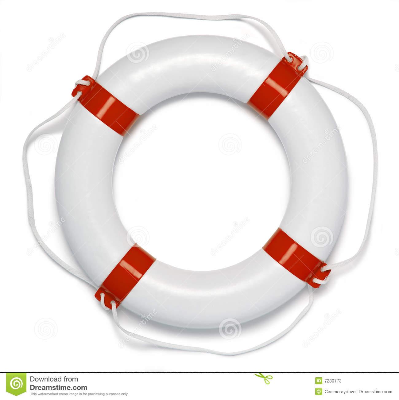 Lifebuoy Ring Buoy Preserver Stock Photos.