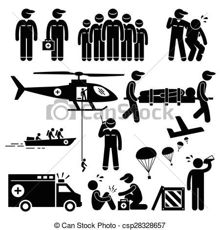 Rescue team Vector Clipart EPS Images. 621 Rescue team clip art.