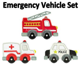 Emergency Vehicle Clipart.