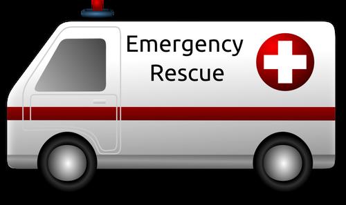 Emergency rescue vector clip art.