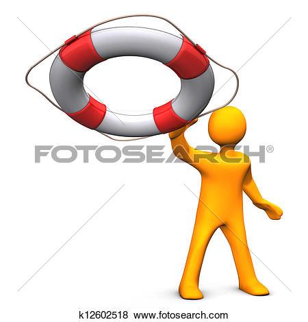 Stock Illustration of Rescue Me k12602518.